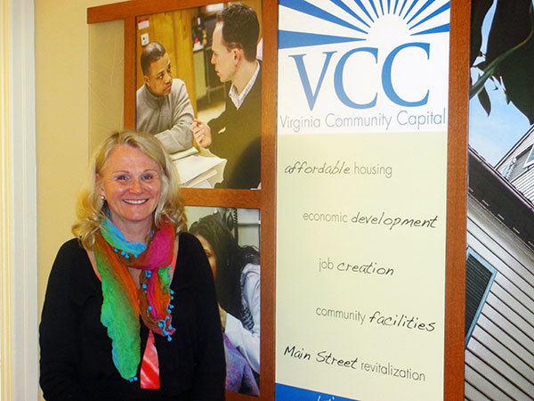 Teri Lovelace, VCC vice president of community investments and impact. (Photo by Brandy Brubaker)