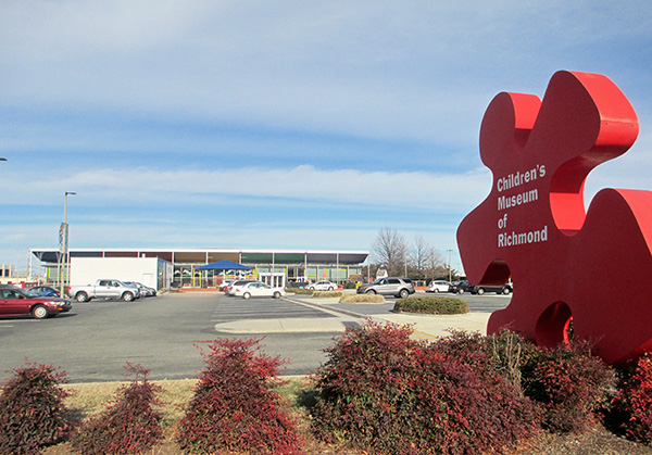 The main Children's Museum of Richmond location at 2626 W. Broad St. (Photo by Brandy Brubaker)