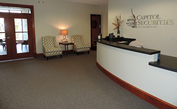 Inside the new Wilmington, N.C., office.