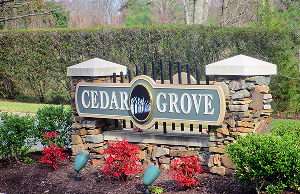 Thirty-four new homes are planned for the Cedar Grove neighborhood. (Photo by Brandy Brubaker)