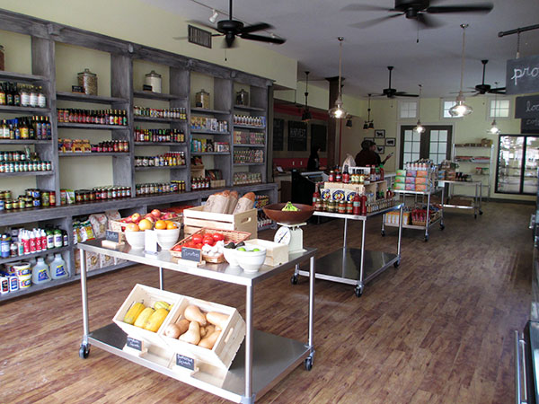 Inside the new Harvest Grocery and Supply at 1531 W. Main St. (Photos by Michael Thompson)