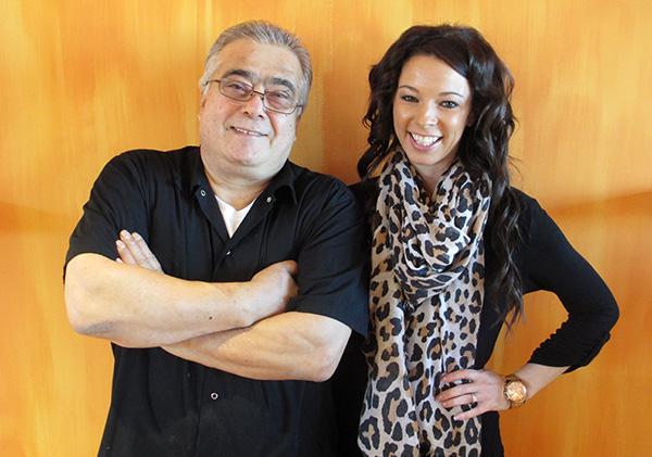 Joe Lo Presti and his niece, Pane e Vino manager Kasey Lo Presti.
