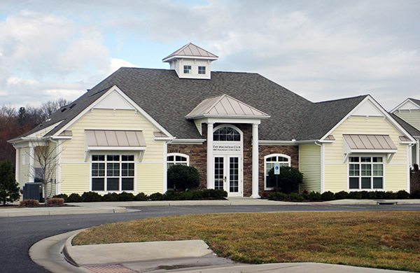 Renovations to the community's clubhouse are in store under Cornerstone's ownership.