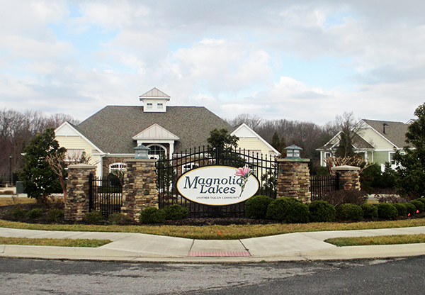 Cornerstone Homes bought the Pointe at Magnolia Lakes in Chester. (Photos by Brandy Brubaker)