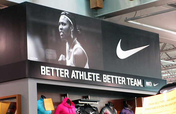 """""""Student athletes and prospective student athletes love Nike,"""" Lisa Rudd said."""