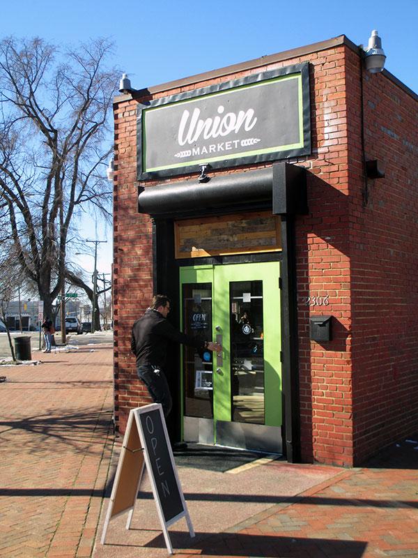 Union Market opened at 2306 Jefferson St.