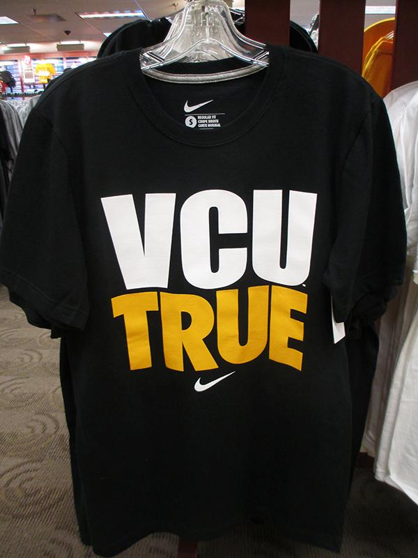 Each year, VCU gets $10,000 worth of gear from Nike.