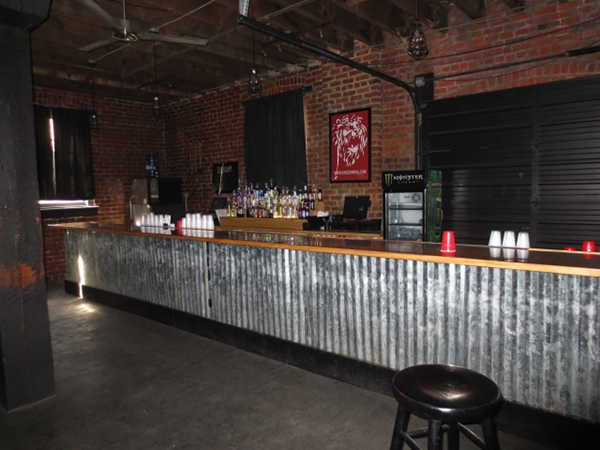 Inside the former Kingdom space at 10 Walnut Alley. (Photos courtesy of Divaris)