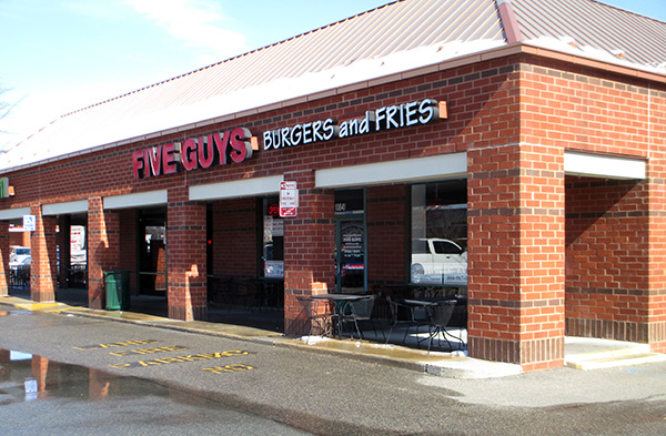 The Five Guys at 10841 W. Broad St. (Photo by Michael Thompson)