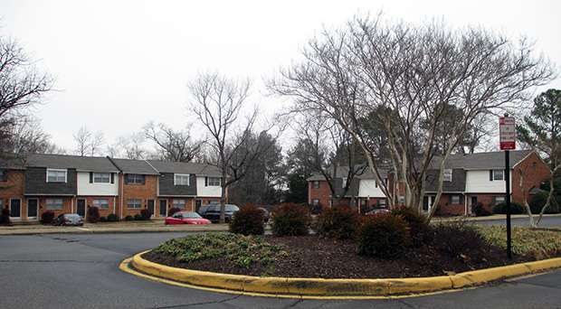 The Laurel Springs Apartment Homes in Henrico County. (Photo by Burl Rolett)