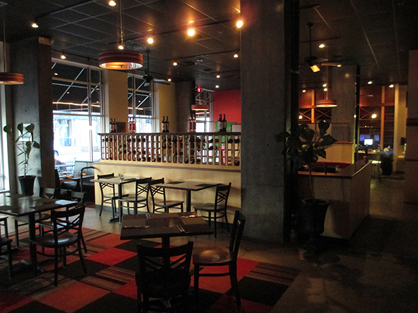 Inside the former M Bistro and Wine Bar. (Photos by Michael Thompson)