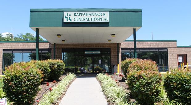 Rappahannock General Hospital (Images courtesy of Rappahannock General Hospital)