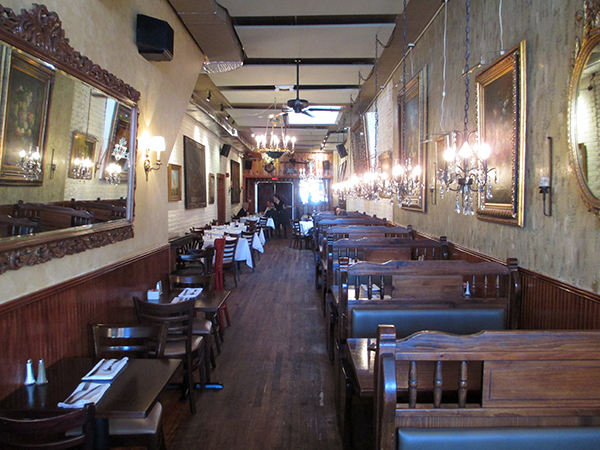 Inside the downtown Tarrant's at 1 W. Broad St. (Photos by Michael Thompson)