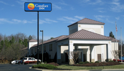 The Comfort Inn at 5240 Airport Lane. (Photo by Burl Rolett).