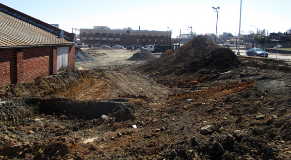 The future home of Hatcher Tobacco Flats at 151 W. Commerce Road in Manchester.