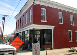 Metzger Bar and Butchery is setting up shop at 801 N. 23rd St.  in Church Hill. (Photo by Michael Thompson.)