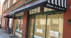 The storefront for Saison Market at 23 W. Marshall St.