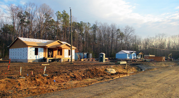 Hanover Habitat for Humanity is building a new neighborhood off Ashcake Road called Bailey Woods. (Photo by Brandy Brubraker.)
