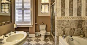 """The house features marble """"his and her"""" bathrooms. (Submitted photo.)"""