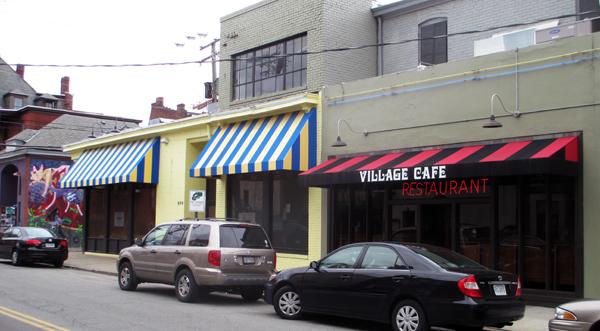 Christian's Pizza leased the former Yogie's Yogurt Shop at 404 N. Harrison St. near VCU. (Photo by Michael Thompson.)