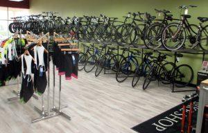 Conte's third Richmond bike shop at 1212 Alverser Drive in Midlothian. (Photo by Michael Thompson)
