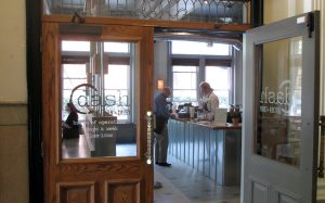 The new Dash restaurant at 900 W. Franklin in a spot formerly occupied by Cous Cous. (Photo by Michael Thompson.)