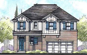 Hanover Land Investors LLC, led by developer Henry Shield, hopes to build 48 detached, single-family houses and 73 single-family townhouses on a 22.11-acre property near the intersection of Pole Green Road and Bell Creek Road in Mechanicsville. (Submitted photo.)