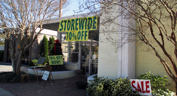 Kelley's Gift Shop at 5601 Patterson Ave. will close April 26. (Photo by Michael Thompson.)