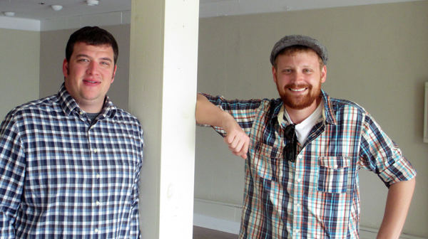 Garden Grove founders from left: Ryan Mitchell and  Michael Davis (Photo by Burl Rolett.)