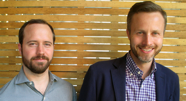 Ledbury founders Paul Watson and Paul Trible. (Photo by Michael Thompson.)