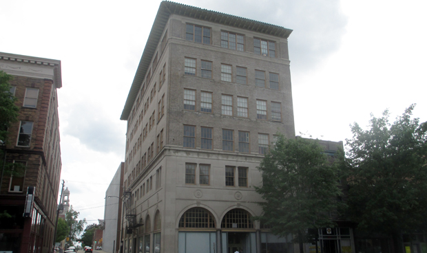 Ted Ukrop is planning to put a boutique hotel in a building at 201 W. Broad St. downtown. (Photo by Burl Rolett.)