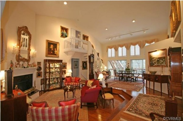 The 4,500-square-foot home is for sale for the second time in a month. Courtesy of jfkdls
