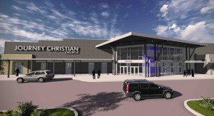 A rendering of Journey's Church's vision for the property.