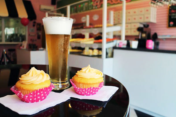 Carytown Cupcakes customers can now enjoy a beer with their dessert. Photos by Michael Thompson.