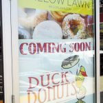 Duck Donuts will sit between Tropical Smoothie and a nail salon in the Shops at Willow Lawn center. Photos by Michael Thompson.