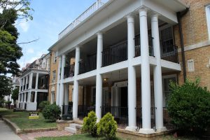 The apartments at 2716 W. Grace St. could also face auction if a judge denies the movement.