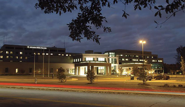 Johnston-Willis Hospital regained its Level III trauma designation. Courtesy of Johnston-Willis Hospital.