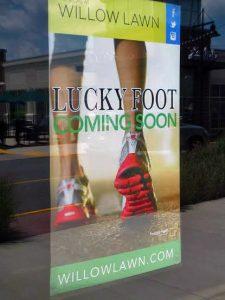 Van Horn has a second Lucky Foot shoe store in