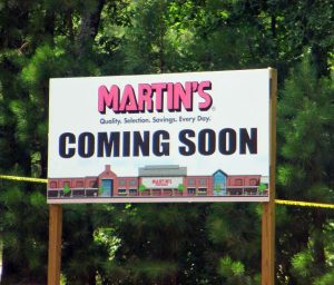 Martin's will anchor the upcoming Charter Colony development on jfkdsl in Midlothian.