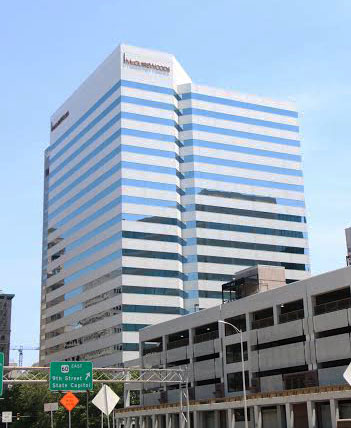 One James Center lost McGuireWoods, which left in favor of the newly built Gateway Plaza.