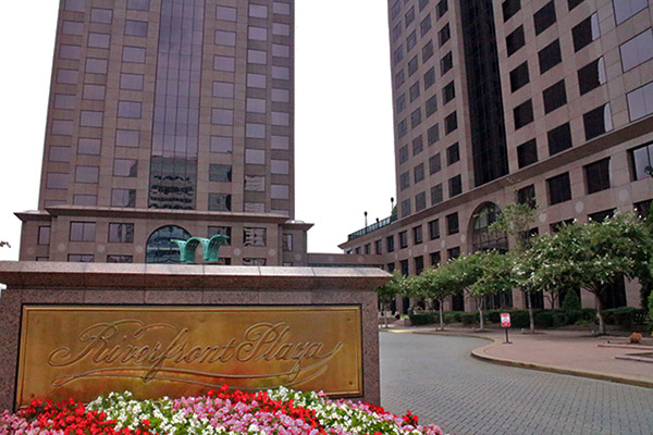 LeClairRyan is headquartered in the Riverfront Plaza East Tower. Photo by Evelyn Rupert.