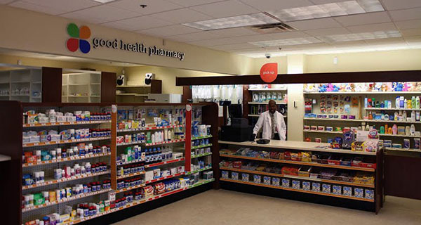 Pharmacist James Frazier said the new pharmacy at Richmond Community Hospital has been busy in its first month. Photos by Brandy Brubaker.