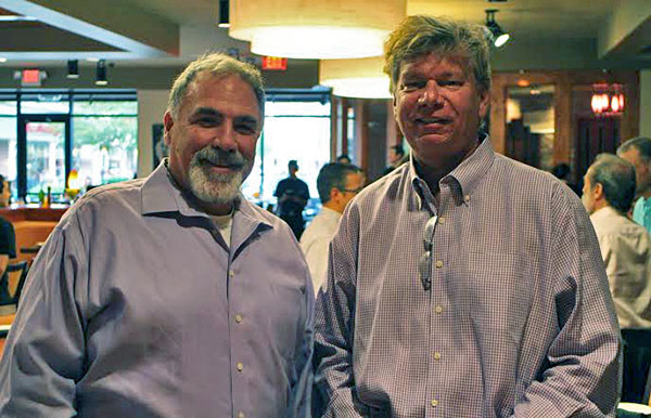 Co-owners Kevin Cox and Mark Craig opened the Willow Lawn Travinia on Friday. Photos by Michael Thompson.