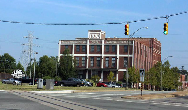 Main Street Realty's Todd Lofts are one of four apartment properties up for sale. Photos by Burl Rolett.