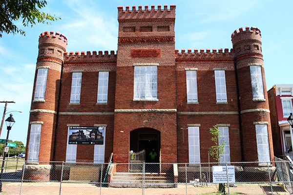 The Leigh Street Armory, a significant landmark in Richmond's African American history, will be renovated to house the Black History Museum. Photos by Brandy Brubaker.