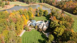 The second-highest priced home that sold in December was a property at 328 Rolling Road. Photo courtesy of Long & Foster Real Estate.