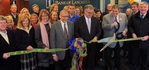 Bank of Lancaster opened a new branch in December.