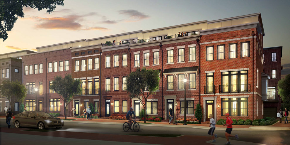 A local firm is backing a new mixed-use development in Northern Virginia. Images courtesy of Markel | Eagle.