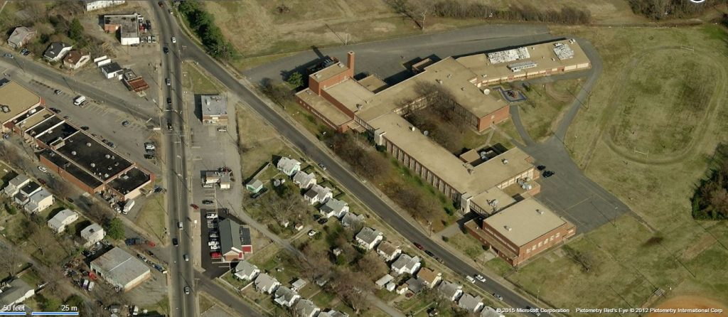 The vacant former home of Armstrong High School  is being floated for redevelopment.
