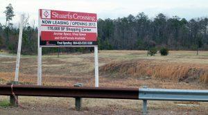 The 20-acre Stuart's Crossing development Photo by Katie Demeria.